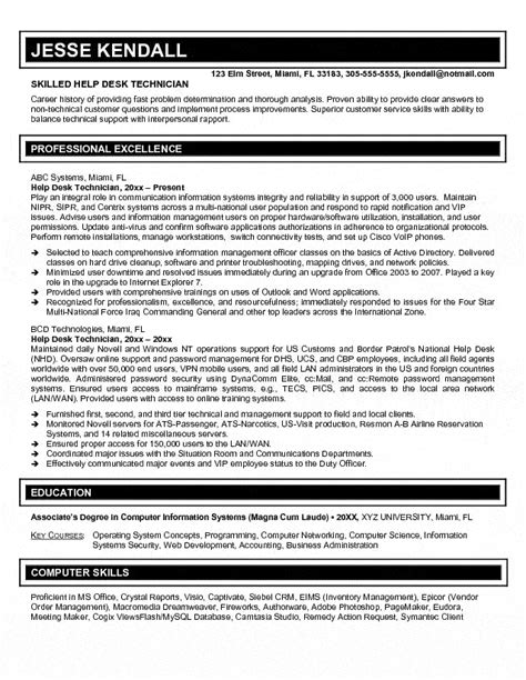 help desk specialist help desk specialist resume