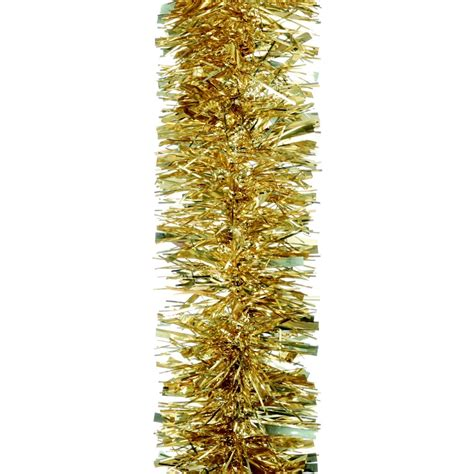 thick tinsel thick luxury gold tinsel christmasshop