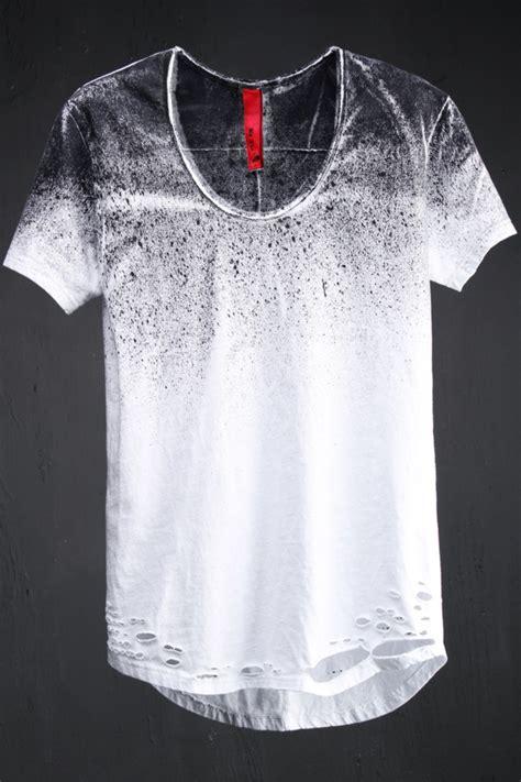 spray painting t shirts best s avant garde fashion grunge spray painted