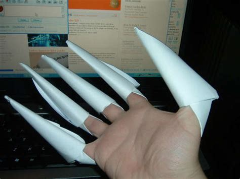 origami claw glove cheap costumes to diy a photo gallery