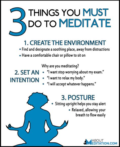 meditation how to use 3 things you must do to meditate about meditation