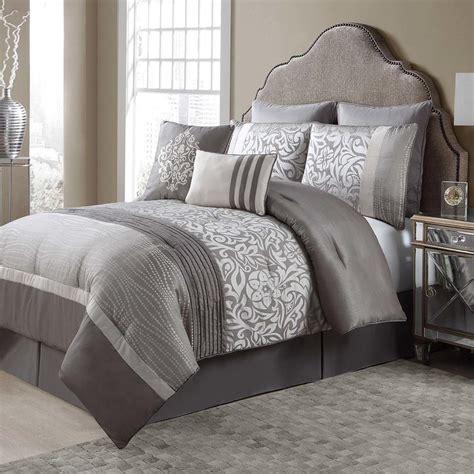 king size floral comforter sets grey and beige 8 comforter set pleated floral