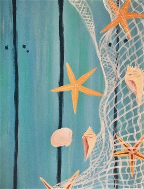 paint nite kelowna starfish paint and paint on