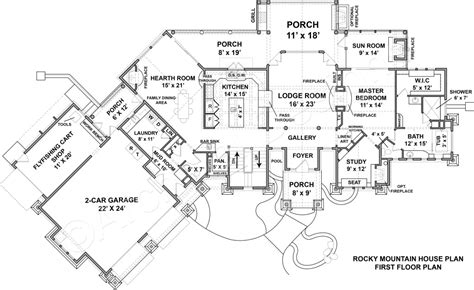 mountain home designs floor plans mountain home designs floor plans peenmedia