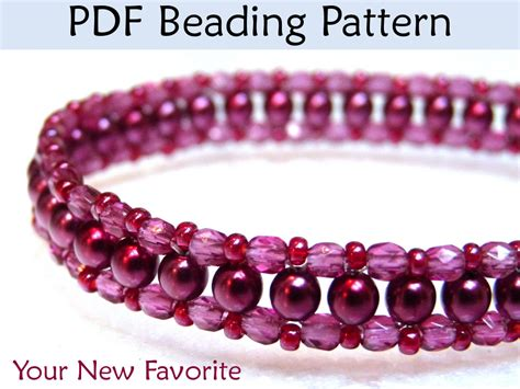 seed bead choker patterns beadweaving tutorials choker necklace jewelry beading