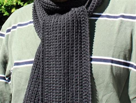 simple mens scarf knitting pattern 25 unique crochet mens scarf ideas on mens