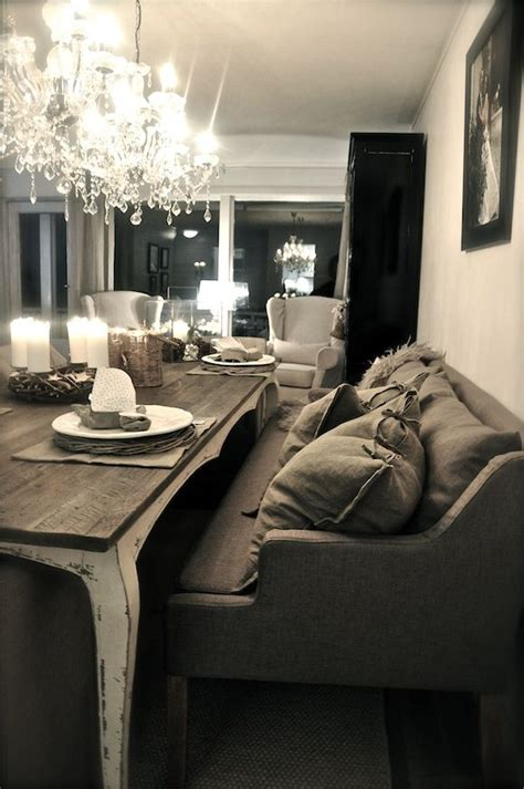 dining sofa table 17 best ideas about settee dining on