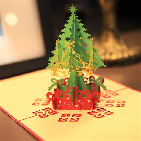 merry gifts 3d merry tree ᐂ greeting greeting cards