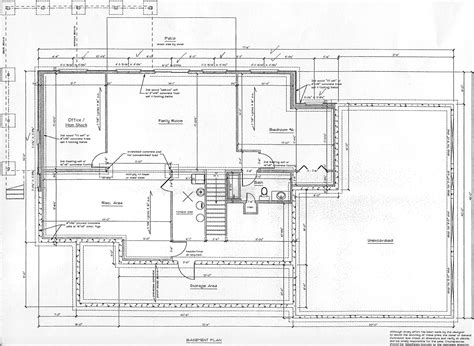 basement plans floor plans and elevations click to enlarge