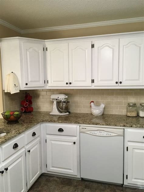 spray painting unfinished kitchen cabinets 1000 ideas about painted oak cabinets on