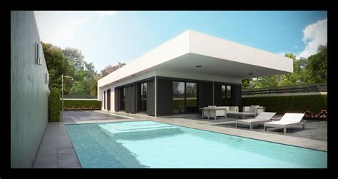 architectures new modern villa spanish house with