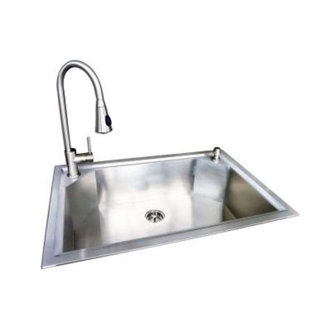 glacier bay dual mount stainless steel 22 in 1