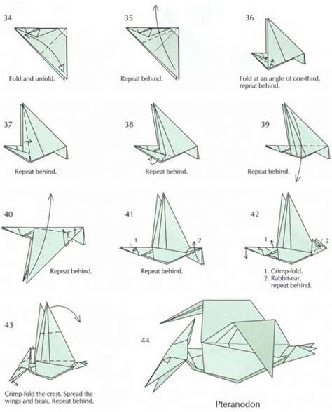 pterodactyl origami origami pteranodon magic tree house ideas