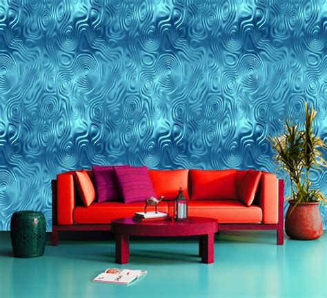 tropical water climax sea ocean blue 3d wallpaper wall