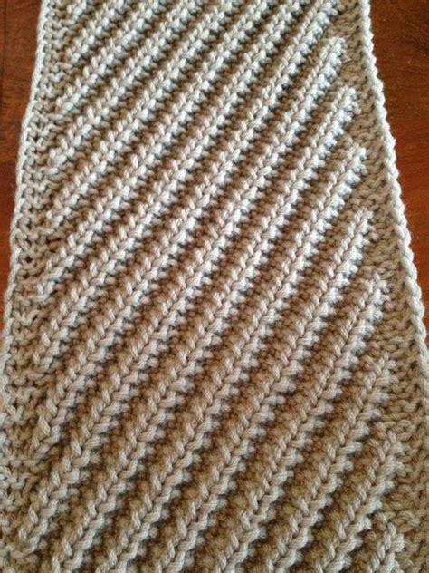 knitting diagonally diagonal mistake by florriemarie knitting pattern
