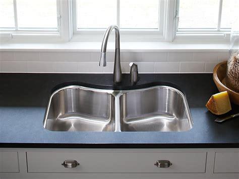 kitchen sink comparison staccato mount bowl kitchen sink k 3899