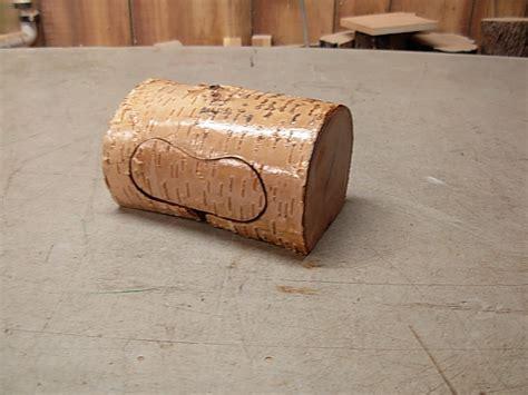 band saw woodworking projects birch log band saw box by jim jakosh lumberjocks