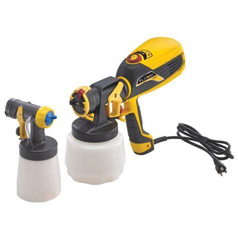 home depot paint spray guns wagner flexio 590 hvlp paint sprayer kit 0529010 the