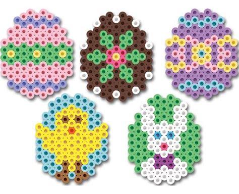 easter hama bead patterns perler bead easter egg patterns crafts craft ideas