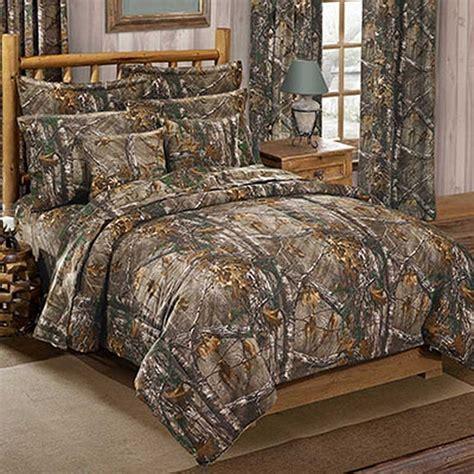 size camo bed set realtree xtra size camouflage comforter sham set