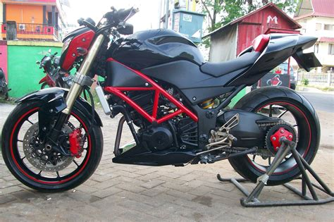 Stret Fighter Style Modifikasi by Modifikasi Motor 250 Style Untuk Streetfighter