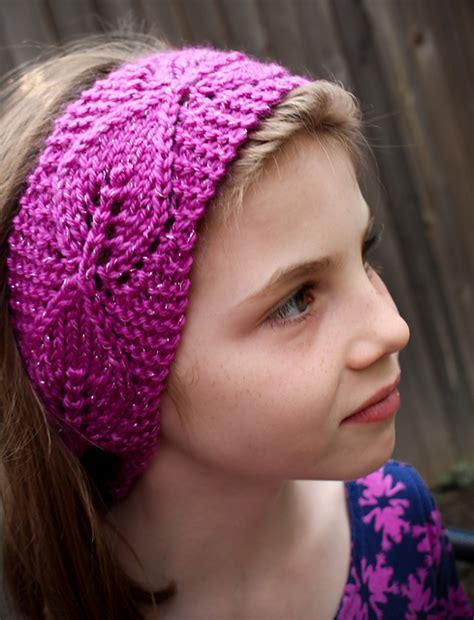 free knitted headband patterns headband and headwrap knitting patterns in the loop knitting