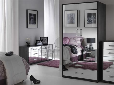 black glass bedroom furniture black mirrored glass bedroom furniture make your home