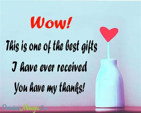 thank you for the gifts thank you messages for birthday gift occasions messages