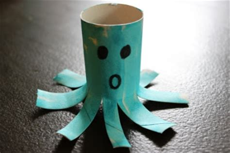 octopus toilet paper roll craft the activity toilet paper roll alphabet crafts o
