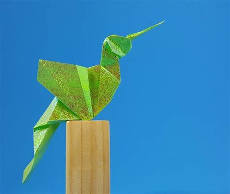 gilad origami origami hummingbirds gilad s origami page
