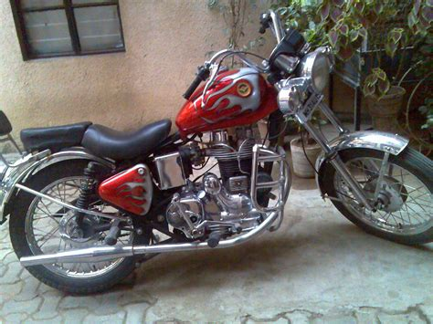Modification Bike by Bikers World Modifications In Royal Enfield Bullet 350cc