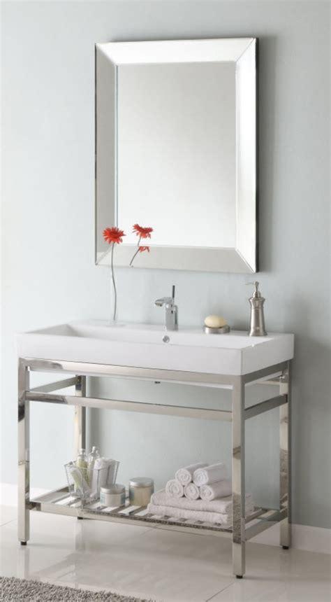 metal bathroom vanity 40 inch single sink console bathroom vanity with choice of