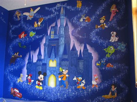 disney wall murals disney mural contemporary minneapolis by walls of