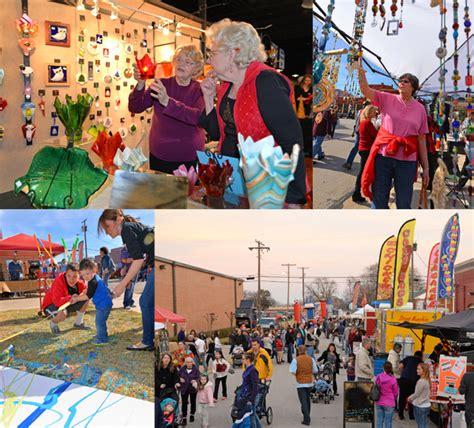arts festival arts festival parade tree lighting