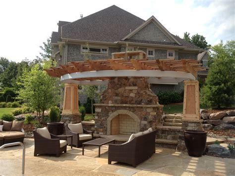 outdoor fireplace edina mn outdoor fireplaces