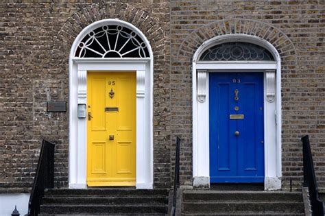 colored doors away wednesday bright colorful doors blush and