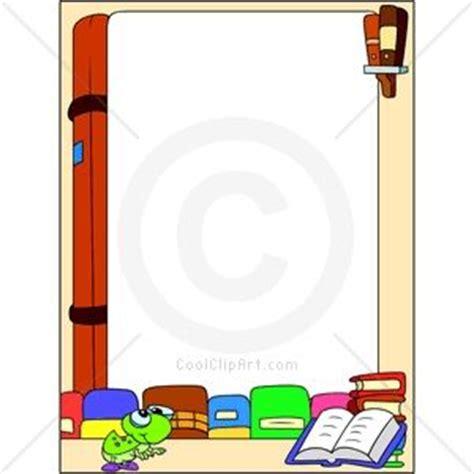 free picture book pdf book border clip keywords borders read reading books
