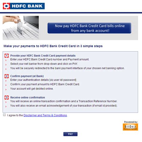 can t make credit card payments hdfc credit card bill payment www hdfcbank