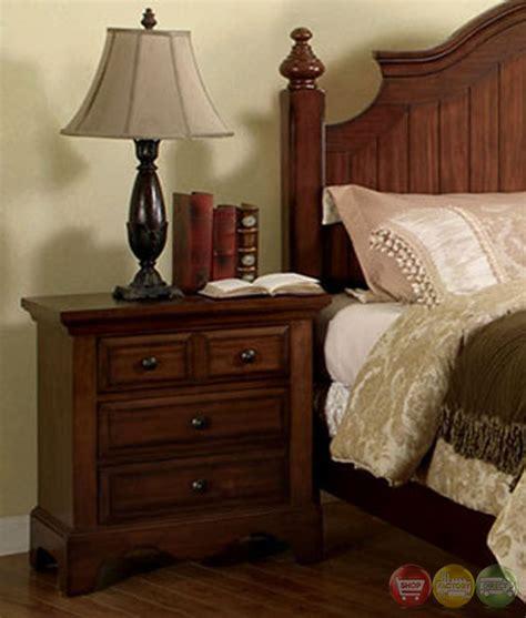 bedroom furniture gold coast palm coast distressed light walnut panel bedroom set with