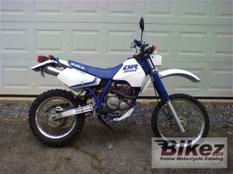 1990 Suzuki Dr350 by 1990 Suzuki Dr 350 S Specifications And Pictures