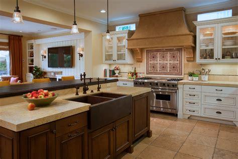 White Glass Tile Backsplash Kitchen sumptuous pot filler faucet convention orange county