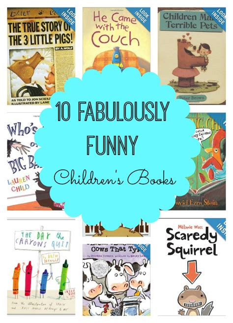 humorous picture books 10 fabulously children s books