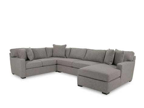 jonathan louis sectional sofa jonathan louis ii three gray sectional sofa