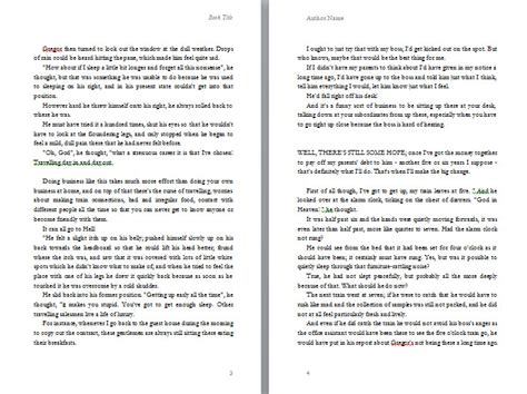 picture book format how to layout a book in microsoft word
