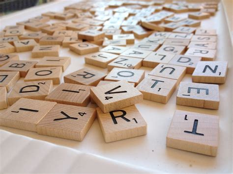 scrabble di she upcycled scrabble tiles and saved coffee table