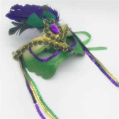 bulk mardi gras wholesale masks mardi gras pgg color burst mask