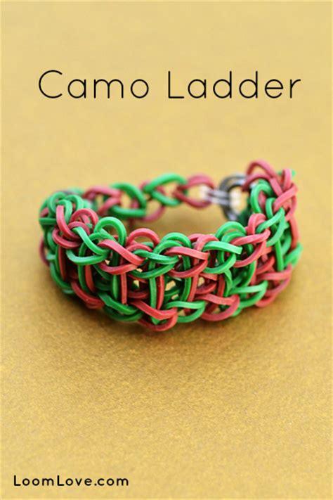 how to make a ladder bracelet with camo ladder bracelet