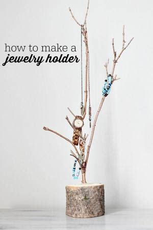 how to make a jewelry tree out of wire how to make an antler jewelry holder out of a deer s