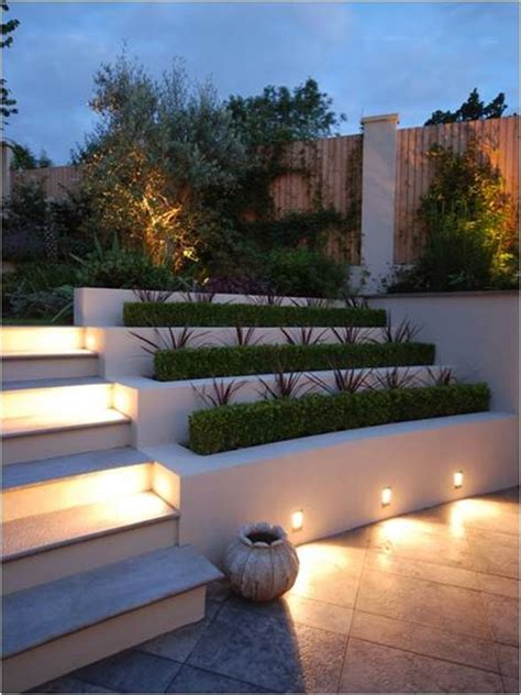 recessed garden wall lights exterior recessed wall lights