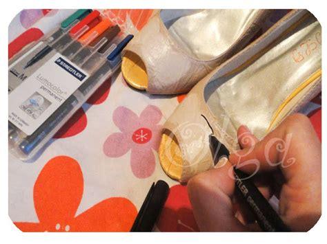 que pintura se usa diy como pintar zapatos el tocador de cenicienta